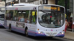 York (Andrew Stopford) Tags: yj08xyt volvo b7rle wright eclipse first york