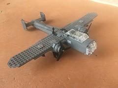 Dornier Do 17Z (Blitz Builder) Tags: do 17 z do17z dornier wwii world war ii two plane lego german