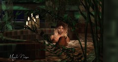 Maye Relax (мαчєℓαι ηєιѕѕєя) Tags: portrait second life secondlife avatar pixel bath night moon moonlight beauty pic photographer awesome real