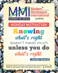 Monday Motivation (mmikalyanmayee) Tags: mondaymotivation thoughtoftheday school delhi india preschool playschool mmi ina daycare