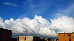 Majestic clouds! (Julz Cat) Tags: sky skyline buesky clouds justclouds