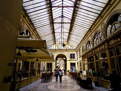 Galerie Vivienne[2014] (gang_m) Tags: 地下鉄のザジ zaziedanslemetro ロケ地 filminglocation パサージュ passage passagecouvert 建築 architecture france フランス paris2014 paris パリ パリ2区 paris2e