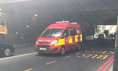NEW LFB Fire Investigation Unit (slinkierbus268) Tags: lfb london fire brigade dowgate investigation ford transit central