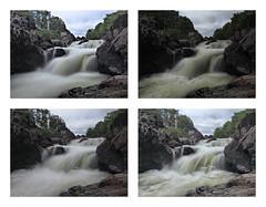 F7083546_average_8_average_8 E-M5ii 12mm iso200 f8 1_6s tile-2 x2 r100 b10 (Mel Stephens) Tags: rocks solitude glen esk angus uk scotland aberdeenshire 20180708 201807 2018 q3 10x8 5x4 wide olympus mzuiko mft microfourthirds m43 714mm pro omd em5ii ii mirrorless water waterfall river landscape