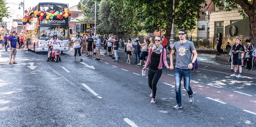ABOUT SIXTY THOUSAND TOOK PART IN THE DUBLIN LGBTI+ PARADE TODAY[ SATURDAY 30 JUNE 2018] X-100114
