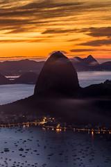 Sugar Loaf - Rio de Janeiro (mariohowat) Tags: sugarloaf pãodeaçucar morrodopãodeaçucar morrodaurca bondinhodopãodeaçucar sunrise amanhecer alvorada canon6d enseadadebotafogo longaexposição brasil natureza riodejaneiro
