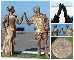 Romantisch- romantic (Anke knipst) Tags: italien italy garda romeo julia juliet skulptur sculpture shakespeare collage