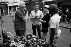 Old camera seller - DSCF3875a (normko) Tags: london west portobello street market stall old film camera