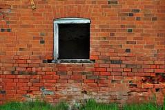 Hole in the Wall (holly hop) Tags: bealiba streets wall brickwall brokenwindow window windowwednesday abandoned derelict decay ruraldecay old empty