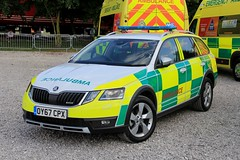 East Midlands Ambulance Service Demonstrator Skoda Octavia Scout Rapid Response Vehicle (PFB-999) Tags: east midlands ambulance service emas demonstrator demo skoda octavia scout 4x4 rapid response vehicle car unit rrv frv lightbar grilles leds oy67cpx rescue day 2018