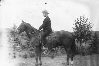 Arthur F. Cochrane at Little Bow Cattle Co. Ranch