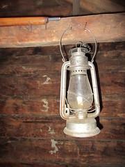 There's a liiiiiIIIiiiiight... (jamica1) Tags: lantern hanging wood cabin kelowna museum artifacts okanagan bc british columbia canada beacon