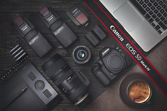 Product Photography (Artur Filipiak) Tags: canon canon6d 5d mark yongnuo yn560iii yn560tx wacom tablet tamron 70200 canon5dmarkiv apple macbook coffe camera body ef35mmf2is ef35mmf20is tabletop product studio