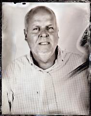 Richard (fitzhughfella) Tags: wetplate tintype tinplate collodion ether silvernitrate 4x5 largeformat graflexspeedgraphic kodakaeroektar