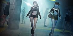 """Like A Star"" (Eripom^^) Tags: glock secondlife ssoc cosplay costume tontastic sisu urban indoor sexy sex naughty upskirt school girl mob subway underground corridor light"
