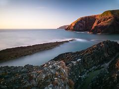 Ceibwr Sunset (Steve_Mallett) Tags: ceibwr coastal landscape pembrokeshire seascape sunset newport wales gbr