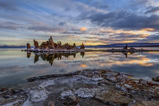 Mono Lake Winter Sunrise