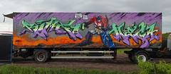 Nasty Sons roll out (daddies nasty sons) Tags: romeo mega etrs nastysons transformers truck wholecar molotow