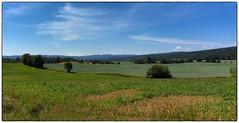 Nannestad July Panorama #2 (Krogen) Tags: norge norway norwegen akershus romerike nannestad sommer summer krogen landscape landskap fujifilmx100 imagecompositeeditor panorama