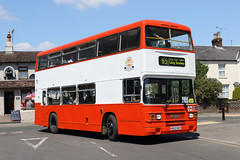 H553GKX (Armchair) Alton 15.7.18 (Rays Bus Photographs) Tags: preserved armchair leylandolympian h553gkx