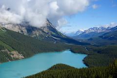 Peyto Lake (*Andrea B) Tags: lake alberta icefieldsparkway banffnationalpark banff rockies lakes rockymountains canada canadianrockies peyto peytolake july 2018 july2018