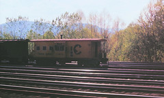 Baltimore & Ohio C-3874 (CPShips) Tags: bo chessiesystem caboose cumberland 1976