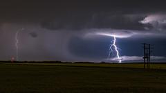 Cloud Piercer, Sturgeon Co., Alta (WherezJeff) Tags: alberta sturgeoncounty lightning canada ca storm night nocturnal