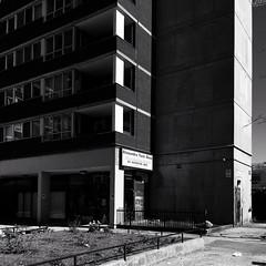 Alexandra Park, Toronto (gt223) Tags: apartments blackandwhite brutalism modernarchitecture modern architecture concrete street urban city