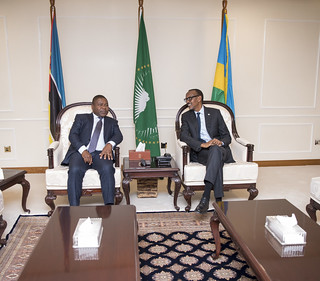 President Kagame welcomes  President Filipe Nyusi of Mozambique to Rwanda for a three-day State Visit   Kigali, 19 July 2018