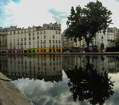 Greatings from Paris : the reflection (nicolasgirodon) Tags: paris france reflection seine colors travel sightseeing discover photography beautiful beauty light olympus walk street