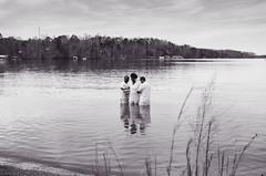 Immersion.. / 35mm Film {EXPLORED} (Ken B Gray) Tags: lakelanier georgia baptism mikveh film analog blackandwhite f100 fuji immersion