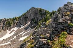 Building Blocks (garshna) Tags: hiking basalt geology heather snow snowfield