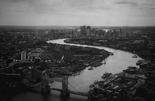 East from the Shard