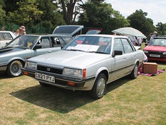 1986 Subaru L Series 1.8 GTi (quicksilver coaches) Tags: subaru lseries c827pyj festivaloftheunexceptional stowe