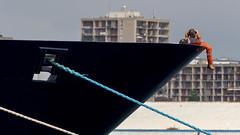 Brest port... (koulapik) Tags: bzh brest bretagne finistère bateau port