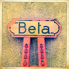 Beta (Suite116) Tags: hipstamatic ruggine rusty rust cartello sign vintage etabeta beta vintageforniture polaroid lomo lomography iphone hipstamatic344 iphone6s utensili