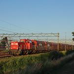 20180702 DBC 6465 + leeg staal, Uitgeest thumbnail