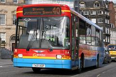 590 T421 AGP (Cumberland Patriot) Tags: go ahead goahead northern general north east england newcastle neville street dennis dart slf super low floor marshall c39 capital dml21 590 t421agp london bus derv diesel engine road vehicle passenger transport