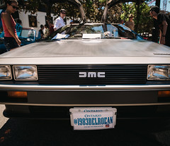 1983 DeLorean (Brian Copeland Photography) Tags: burlington outdoor car antique age vintage northamerica burlingtonvintagecarshow transportation afternoon ontario canada charshow automobile automotive classiccar automobiles cars daytime midday motorcycle motorcycles noon scooter scooters time truck trucks ca