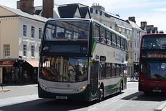 SO 12005 @ High Street, Oxford (ianjpoole) Tags: stagecoach oxfordshire alexander dennis enviro 400h ou10ggk 12005 working route 10 john radcliffe hospital speedwell street oxford