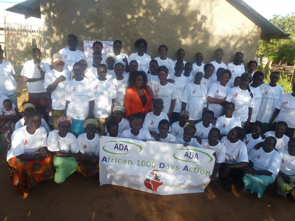 ADA_Trainees: The picture was taken by Henriette Dukunde in South Sudan during a training with community health promoters