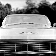 Long motor hood (•Nicolas•) Tags: nicolasthomas 100iso analog analogique bronica fomapan france ilfosol koolday motorshow s2 yvelines classic american car