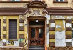 In Berlin-Schöneberg (Janos Kertesz) Tags: berlin schöneberg architecture house building old facade wall home stone window door exterior europe decoration city doorway
