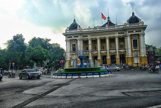 Hanoi Opera House in  Vietnam