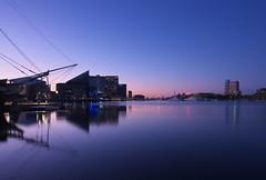 Baltimore Blue (Gavin Edmondstone) Tags: baltimore innerharbor bluehour dawn twilight
