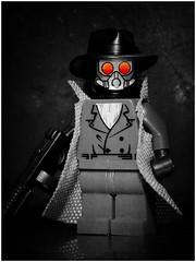 Sandman (LegoKlyph) Tags: lego custom brick block build mini figure mystery noir dc vertigo comic book sleeping gas detective 30s golden age sleep mask fedora