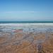 Shingle beach at Sandsend.