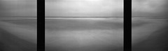 Genesis 3x3/2 (Rosenthal Photography) Tags: dänemark ff120 meer schwarzweiss realitysosubtle6x17 triptychon 6x18 asa50 20180705 mittelformat urlaub strand nordsee houvig ilfordlc2912920°c55min analog ilfordpanfplus sea northsea beach dunes mood denmark genesis realitysosubtle rss 70mm f233 ilford panf panfplus lc29 129 epson v800