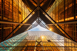 Golden Mirrors    Espejos Dorados (The Royal Pacific Hotel & Towers, Hong Kong)