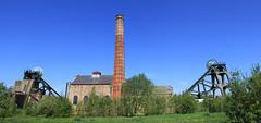 Pleasley pit (jpotto) Tags: uk derbyshire eastmidlands pleasley pleasleypit colliery coal headstock pithead windinghouse mining coalmining